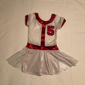 Girls cheer Dance Dress up sz M 8-10